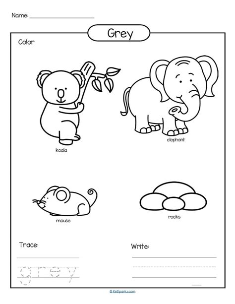 for printables colors theme activities and printables for preschool and