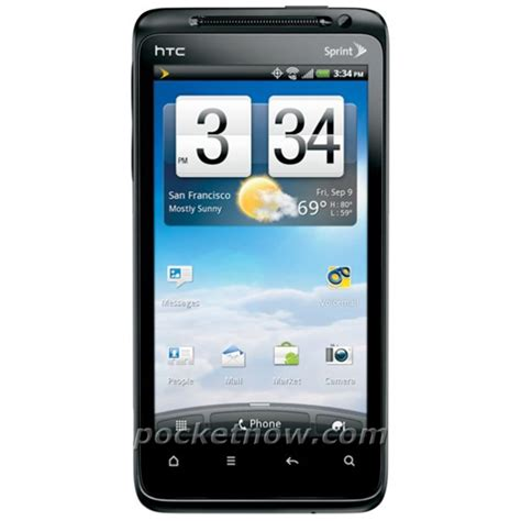 Hp Htc Evo 4g Sprint a new image of sprint s htc evo design 4g cell phone forums