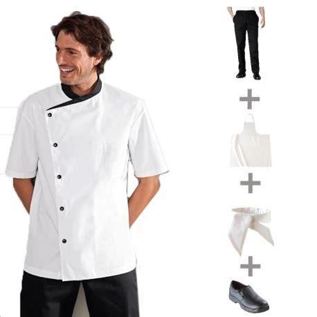 vetement de cuisine pack v 234 tements de cuisine et tenues compl 232 tes apprentis