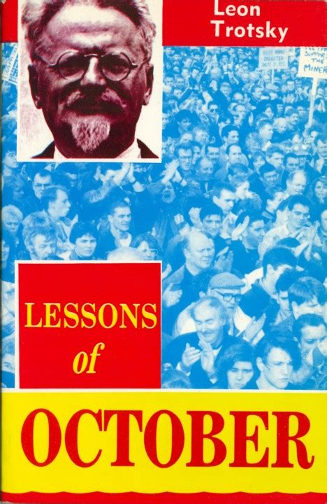 trotsky on lenin books lessons of october revolutionary books