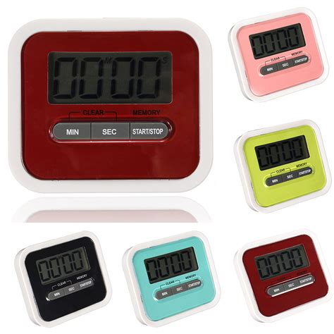 Egg Kitchen Cooking Timer magnetic digital lcd kitchen timer count up egg