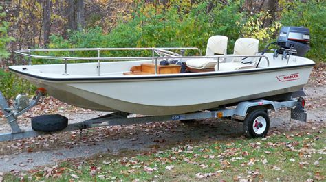 cox boat trailers boston whaler 13 sport 1988 for sale for 500 boats from