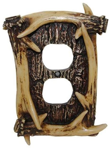 antler light switch cover antler outlet cover switch plates and outlet covers by