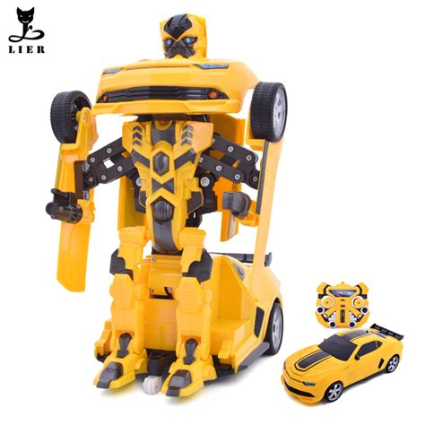 New Deformation Robot Tranformer Bumble Bee Murah transformation car rc drift car deformation bumblebee robots figures robot charging rc