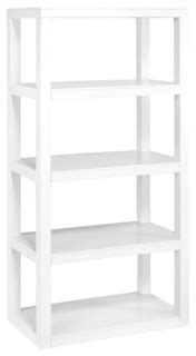 modern white bookcases parson s bookcase white modern bookcases by home