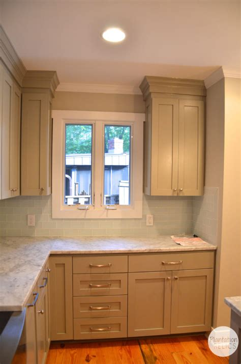 kitchen cabinets around windows brick cottage after kitchen plantation relics