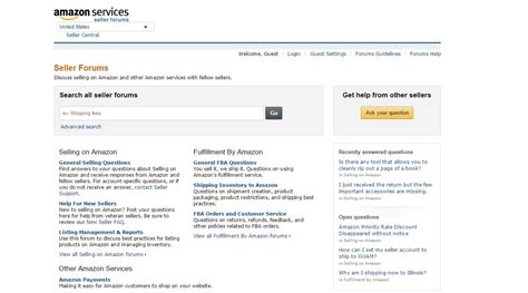amazon seller the best ecommerce forums for amazon sellers feedbackexpress