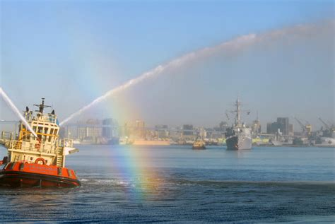 tug boat water cannon file us navy 071008 n 9909c 002 tug boat tractor 10 gives