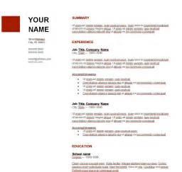 Descargar Plantilla De Curriculum Vitae En Ingles C 243 Mo Crear Un Curriculum Vitae En Ingl 233 S