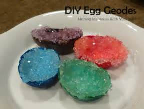 diy egg geodes science experiment making memories with your kids