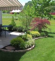 landscaping ideas around patio 1000 images about exterior patio landscaping on