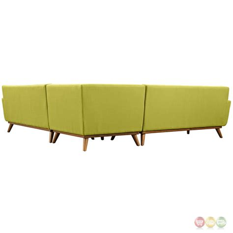 contemporary l shaped sofa engage contemporary l shaped sectional sofa with button
