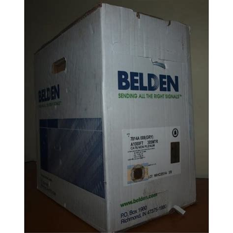 Kabel Data Belden Cat 6 harga kabel belden cat 6 cats