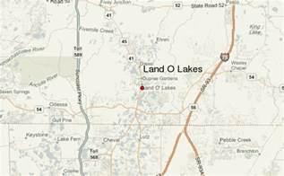 land of lakes florida map land o lakes location guide