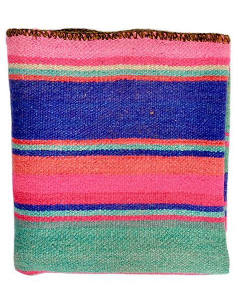 bolivian rugs bolivian frazada rug blanket pink blue teal