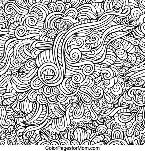 doodle patterns for colouring pattern doodle art coloring pages coloring page for kids