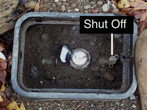 how to turn off water to house how to shut off your main water line michaels plumbing service