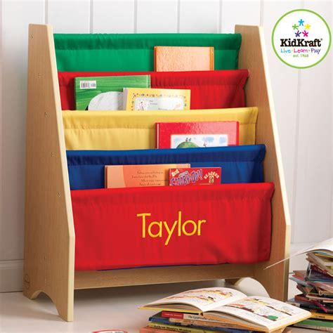primary 4 sling bookshelf by kidkraft rosenberryrooms