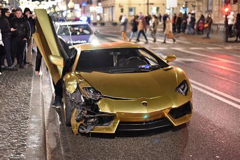 Lamborghini W Warszawie by Lamborghini Aventador Wypadek W Warszawie Zdjęcie Nr 5