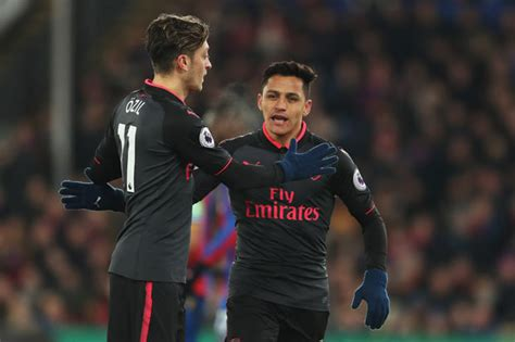 alexis sanchez and mesut ozil arsenal news gunners slammed over ridiculous alexis