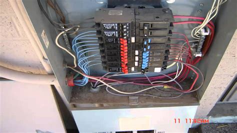 electrical wiring residential  phase service youtube