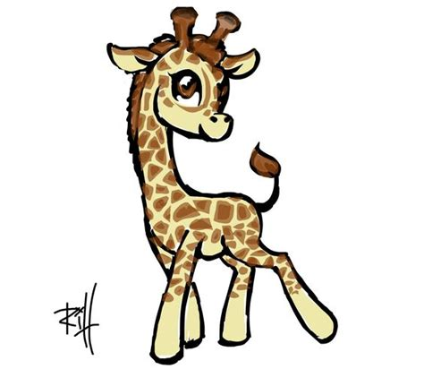 how to draw a giraffe doodle drawings of giraffes clipart best