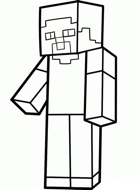 minecraft coloring pages mutant zombie the gallery for gt minecraft steve face printable