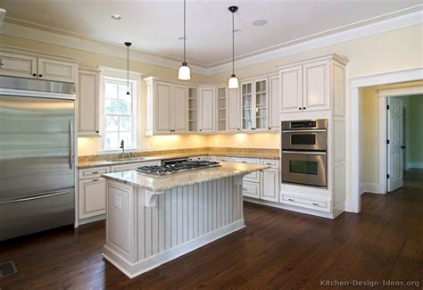 kitchen flooring ideas with white cabinets pictures of kitchens traditional off white antique