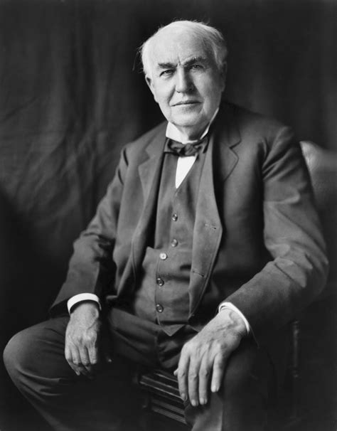Biography Thomas Edison | thomas alva edison black white