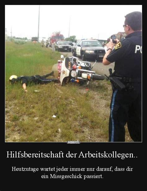 Motorrad Spr Che Witzig by Hilfsbereitschaft Der Arbeitskollegen Lustige Bilder