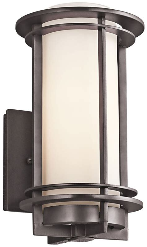Modern Outdoor Lighting Sconces Kichler Lighting 49344az Pacific Edge Modern Contemporary Outdoor Wall Sconce Kch 49344az