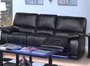 black leather electric recliner sofa marvelous leather