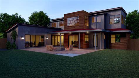 casa hd blender exterior arquitectura casa moderna