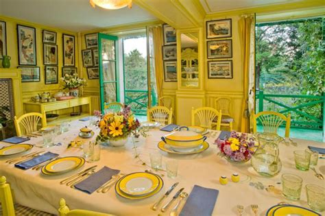 monet dining room get closer to claude monet at giverny the secret