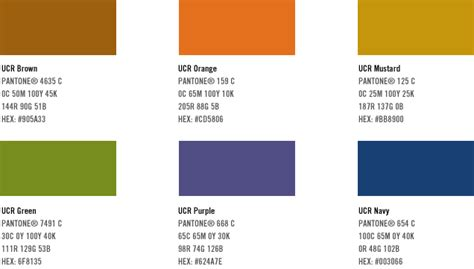 uc colors creative design services identity standards manual uc