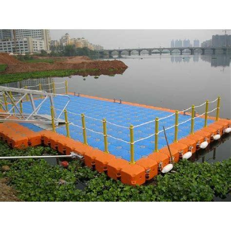 Jual Dermaga Apung Ponton HDPE Ponton Plastik Cube Float