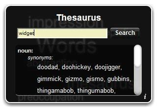 thesaurus comfort mac dashboard widgets to brighten up your mac
