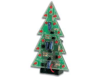 velleman mk100 electronic christmas tree mini kit