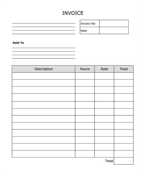 black out sections of pdf plain invoice template blank invoice template word doc