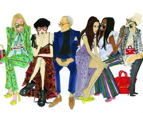 fashion illustration guide an illustrated guide to fashion week zanita studio