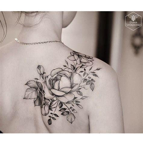 tattoo rose shoulder blade 212 best images about tatuagens flores on pinterest
