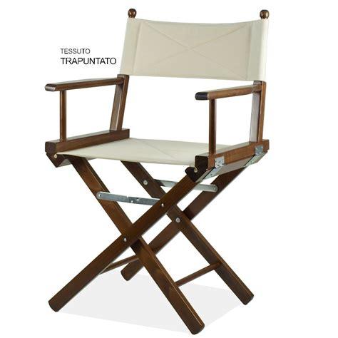 sedia da regista sedia regista in legno verniciato regista p arredas 236