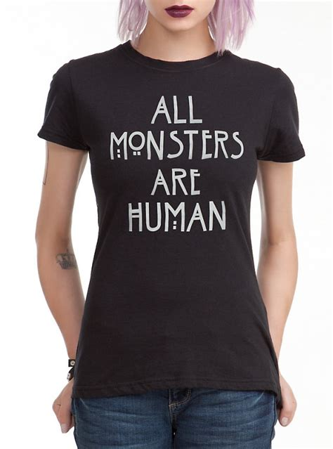 t shirts for humans american horror story all monsters are human t shirt topic