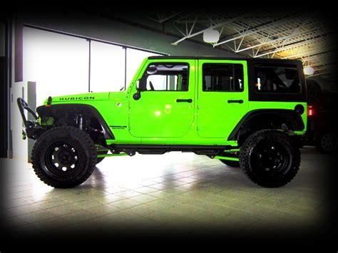 Pimped Out Jeeps Sold Out 2012 Jeep Wrangler Gecko Yeg Image