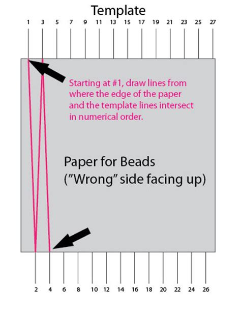 bead templates how to make paper from rolled paper i paper