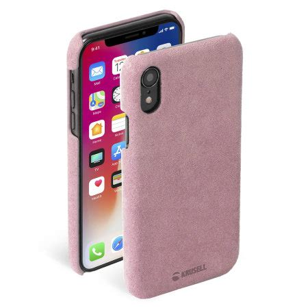 krusell broby iphone xr leather pink reviews