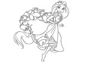 elegant disney princess coloring pages rapunzel 15 for