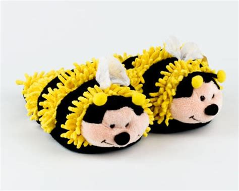 bumble bee slippers fuzzy bee slippers bumble bee slippers bee slipper