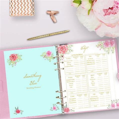 printable wedding planner book wedding planner printable wedding planner book binder