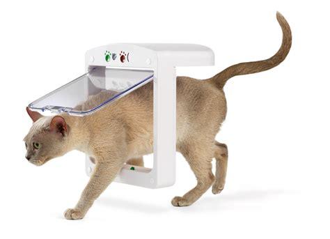 pet porte microchip cat flap this new cat flap prevents common mishaps pr